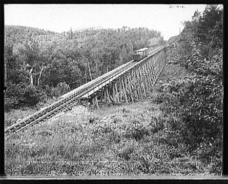 Catskill Mountain House Cog Rail Road