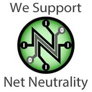 we support net neutrality