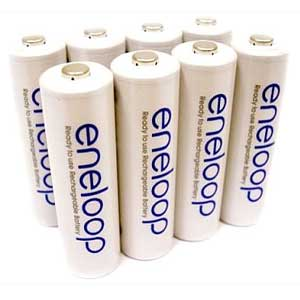 review of eneloop rechargeable batteries